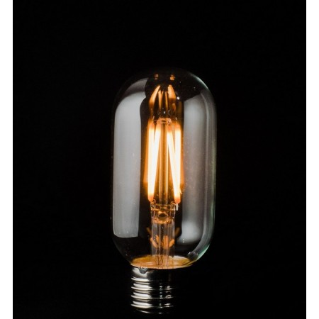 Vintage LED T45 filament 3W edison E27 - clear glass