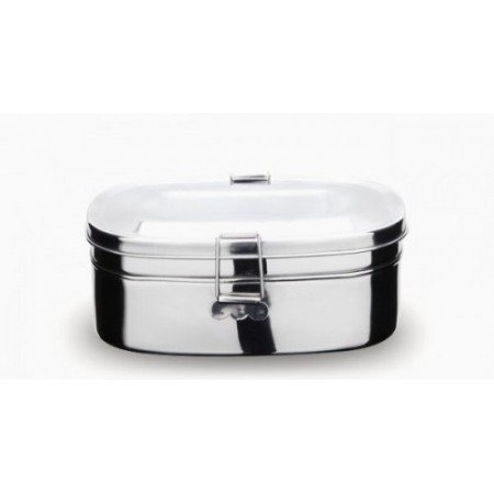 Onyx Stainless Steel Two Layer Lunch Box - Large