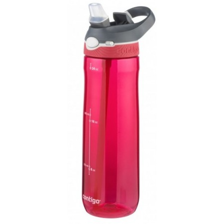 Contigo Autospout Ashland Plastic Water Bottle 709ml Sangria