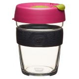 KeepCup medium glass cup 12oz (340ml) – cocoa