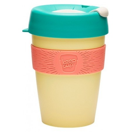 KeepCup medium coffee cup 12oz (340ml) – custard apple