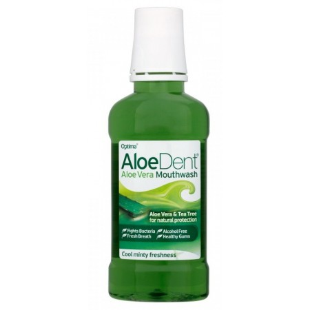 AloeDent Aloe Vera Mouthwash - Mint 250ml