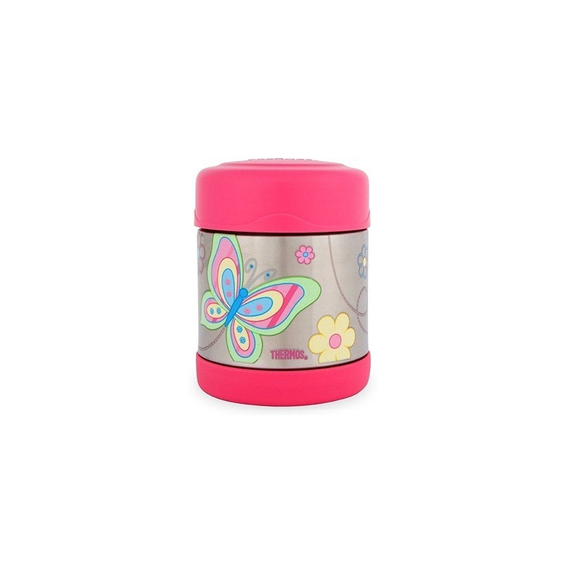 thermos funtainer stainless steel insulated food jar butterfly biome. Black Bedroom Furniture Sets. Home Design Ideas
