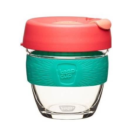 KeepCup small glass cup 8oz (227ml) – fig