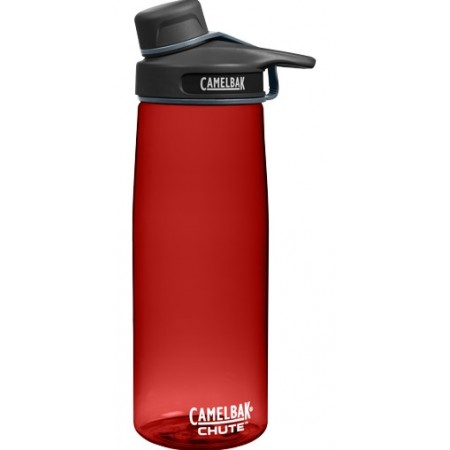 Camelbak 750ml Plastic Water Bottle Chute - cardinal