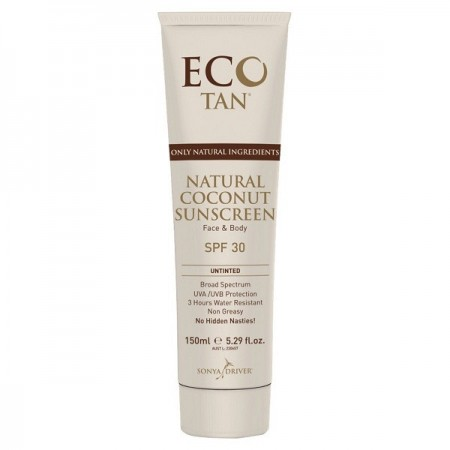 Eco Tan Coconut Sunscreen Untinted 150g