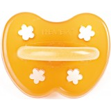 Hevea Natural Rubber Soother - Anatomical 3months+ flower