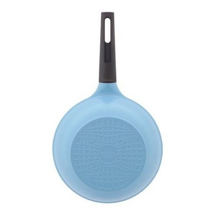Nature+ Neoflam 26cm non stick wok - light blue