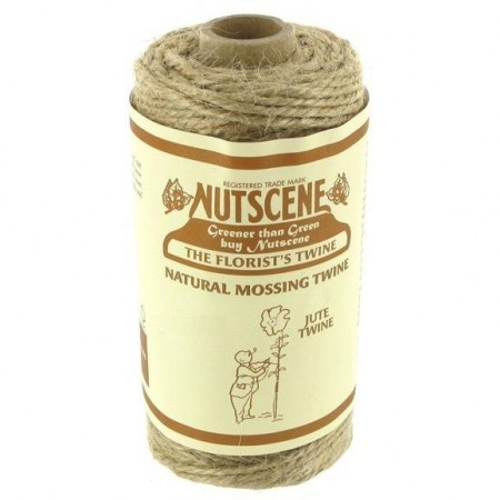 Tiddler jute twine small 16m - natural