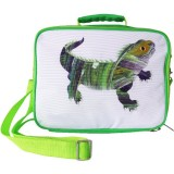 Munch Insulated Lunch Bag - Green Lizard