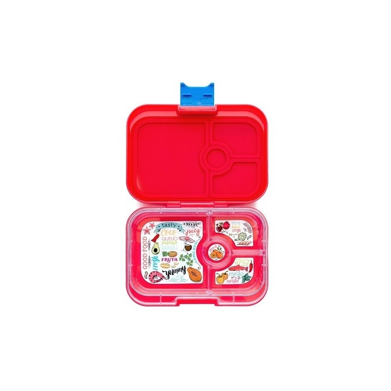 yumbox bento lunch box panino aztec red biome. Black Bedroom Furniture Sets. Home Design Ideas
