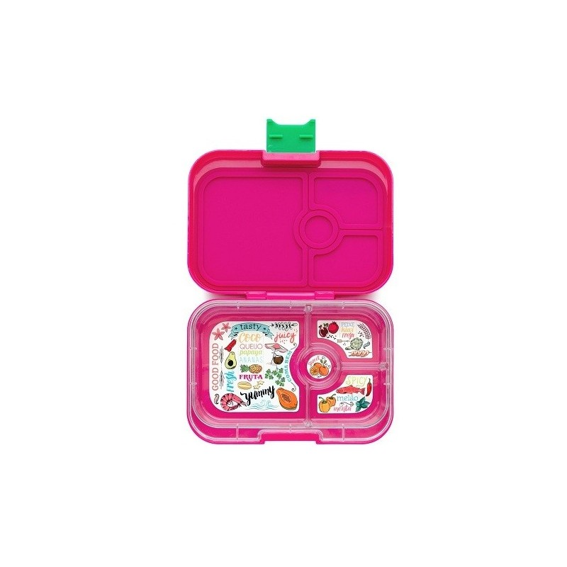yumbox bento lunch box panino rosa pink biome. Black Bedroom Furniture Sets. Home Design Ideas