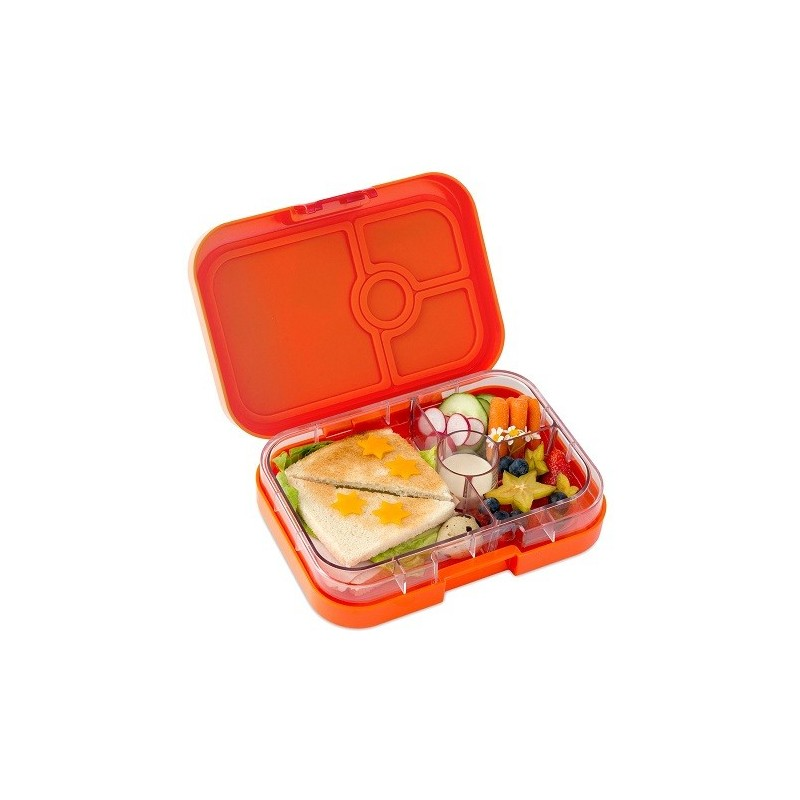 yumbox bento lunch box panino papaya orange biome. Black Bedroom Furniture Sets. Home Design Ideas