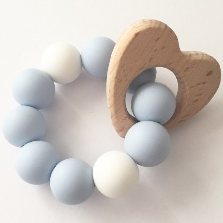 Tiny Teethers Love Teether - Blue