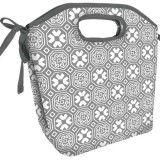 Fit & Fresh insulated lunch bag - newport grey