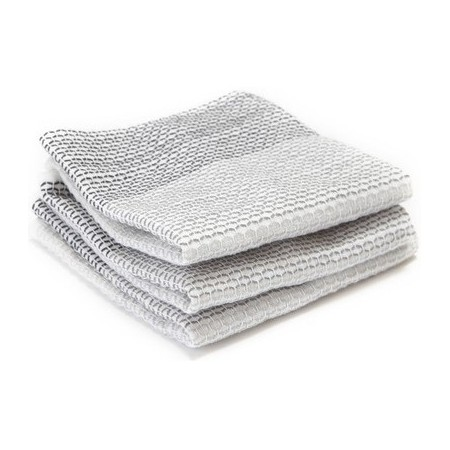 Full Circle Tidy Dish Cloths (3) - Grey