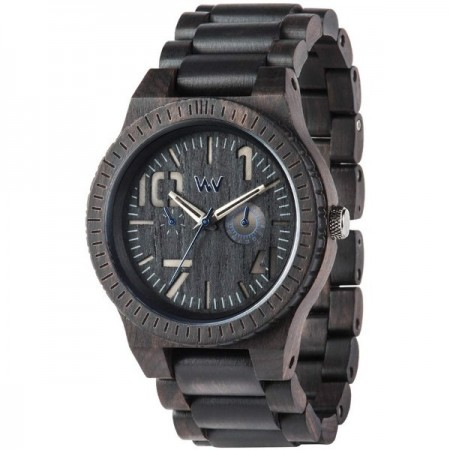WeWood Watch - Oblivio Black/Blue