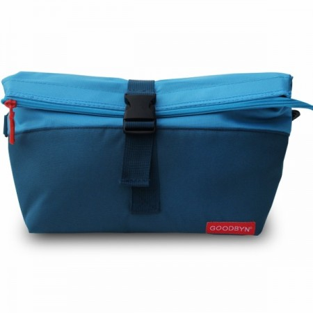 Goodbyn Insulated Rolltop Lunch Bag - Blue