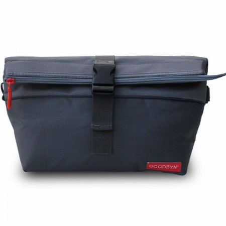 Goodbyn Insulated Rolltop Lunch Bag - Grey