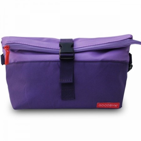 Goodbyn Insulated Rolltop Lunch Bag - Purple