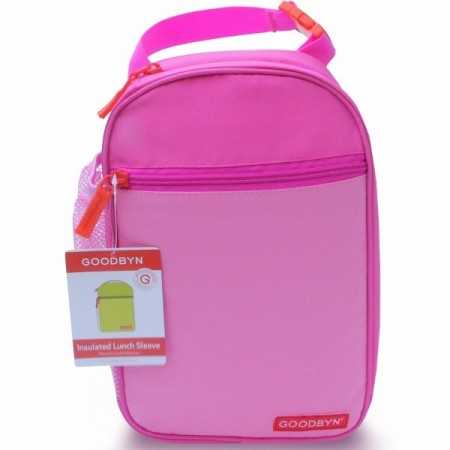 Goodbyn Insulated Sleeve Lunch Bag - Pink