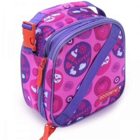 Goodbyn Insulated Expandable Lunch Kit - Sweet Purple