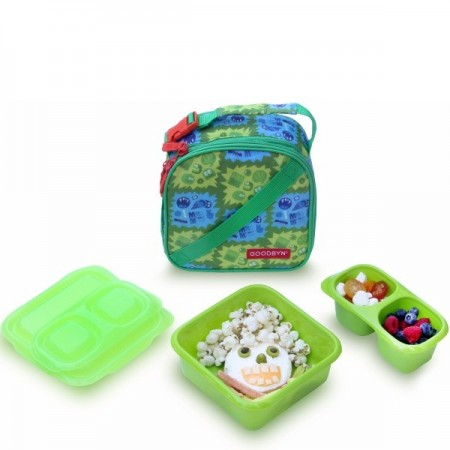 Goodbyn Insulated Expandable Lunch Kit - Sour Green