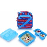 Goodbyn Insulated Expandable Lunch Kit - Zap Blue