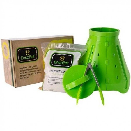 EnsoPet bokashi pet waste compost kit