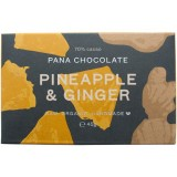 Pana chocolate pineapple & ginger 45g raw organic vegan