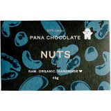 Pana chocolate nuts 45g raw organic vegan