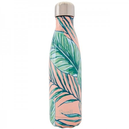 S'Well Insulated Stainless Steel Bottle 500ml - Palm Beach