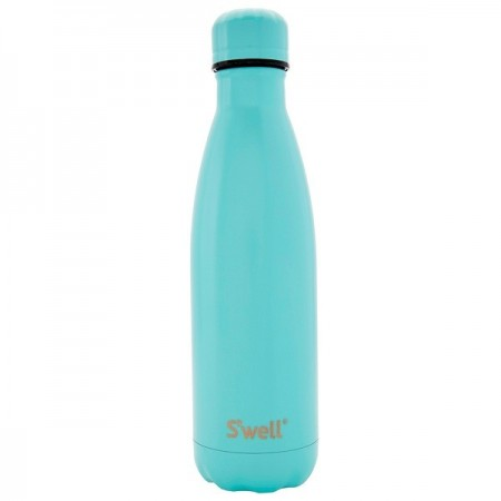 S'Well Insulated Stainless Steel Water Bottle 750ml - Turquoise Blue