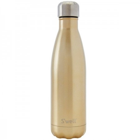 S'Well Insulated Stainless Steel Water Bottle 500ml - Sparkling Champagne