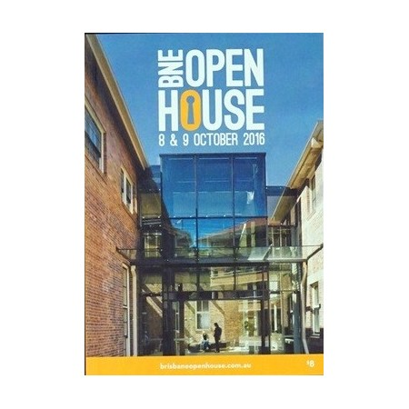 Brisbane Open House guide book 2016