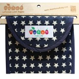 Munch Litterless Lunch Bag - Blue Stars