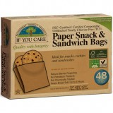 If You Care sandwich snack bags (48) unbleached chlorine free