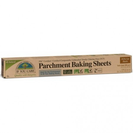 If You Care baking paper unbleached chlorine free (pre-cut 24 sheets)