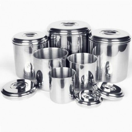Onyx  Stainless Steel Canister Set - 6 Piece