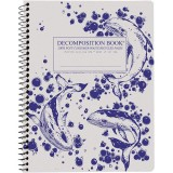 Decomposition Spiral Notebook - Whales