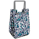 Fit & Fresh Insulated Lunch Bag - Navy Aqua