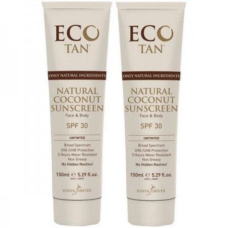 Eco Tan natural sunscreen - 2 pack Buy one get one free
