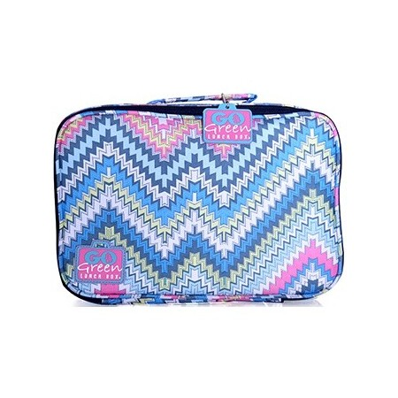 Go Green Lunch Box - Zig Zag