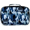 Go Green Lunch Box - Blue Camo