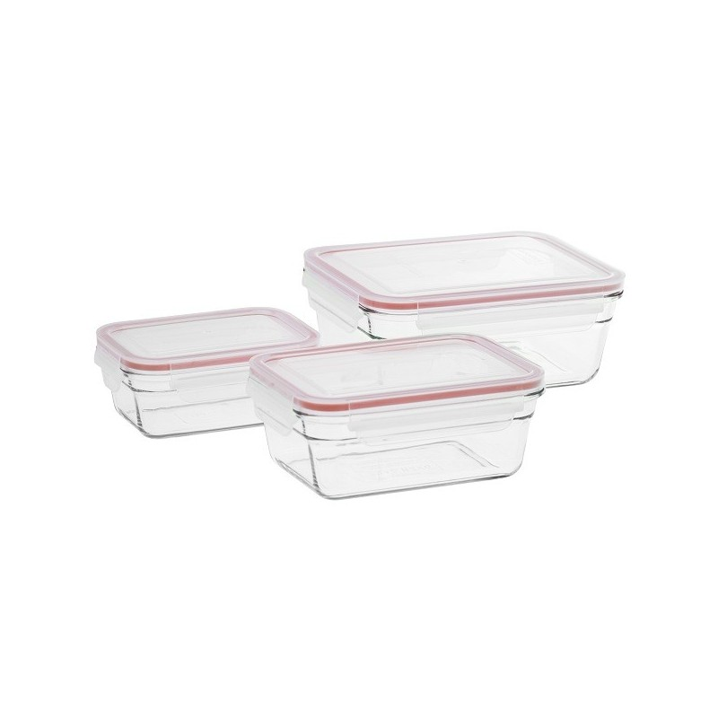 High Quality Oven Safe Glass Food Storage Containers With Easy Open And  Clip Shut BPA Free Plastic Lid. Leak Proof. Glasslock Tempered Glass Food  Containers ...