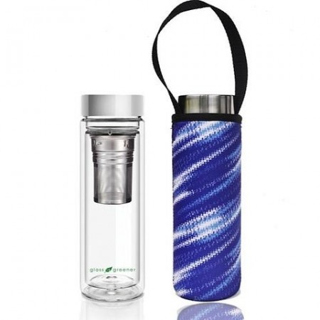 BBBYO 500ml Tea Flask with Cover - Lightning