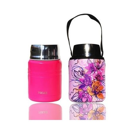BBBYO 500ml Foodie + Cover - Floral