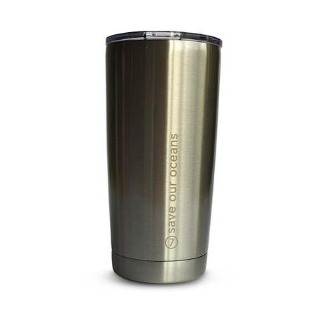 BBBYO 600ml Stainless Steel Cup - Silver