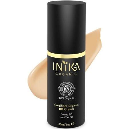 Inika BB Cream Foundation Certified Organic - Honey