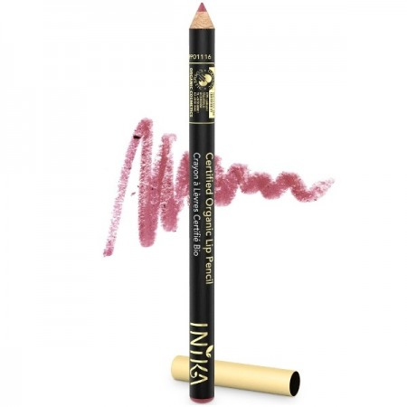 Inika Lip Pencil Certified Organic - Dusty Rose